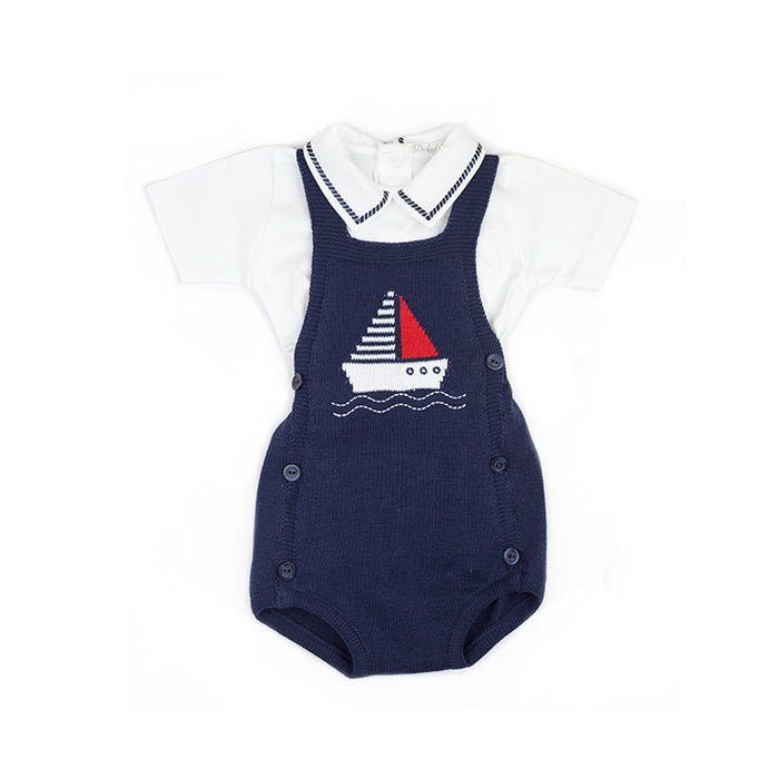 Sailboat Overall Set