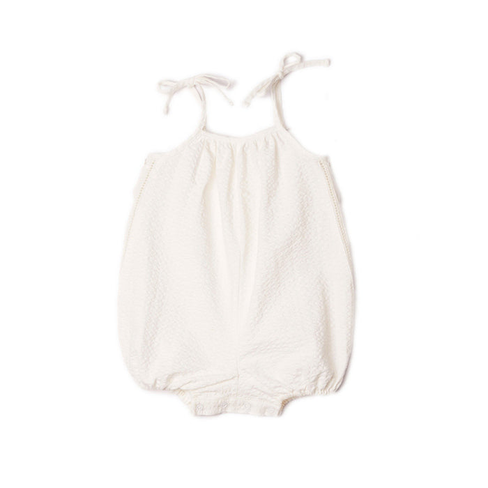 Cotton Tie-Up Romper
