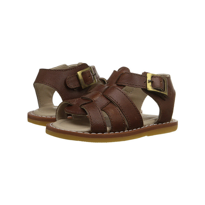 Chocolate Fisherman Sandals