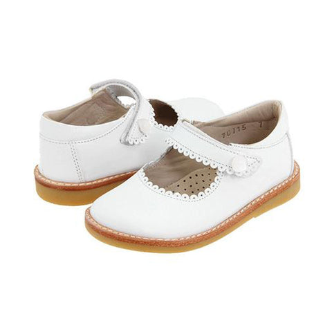 Classic White Mary Janes