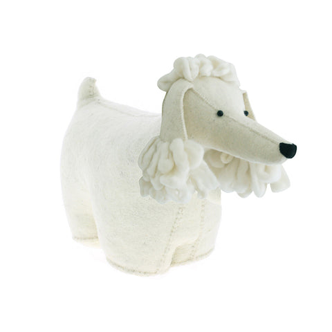 Poodle Bookend