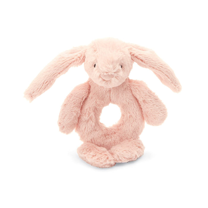 Blush Pink Bunny Rattle
