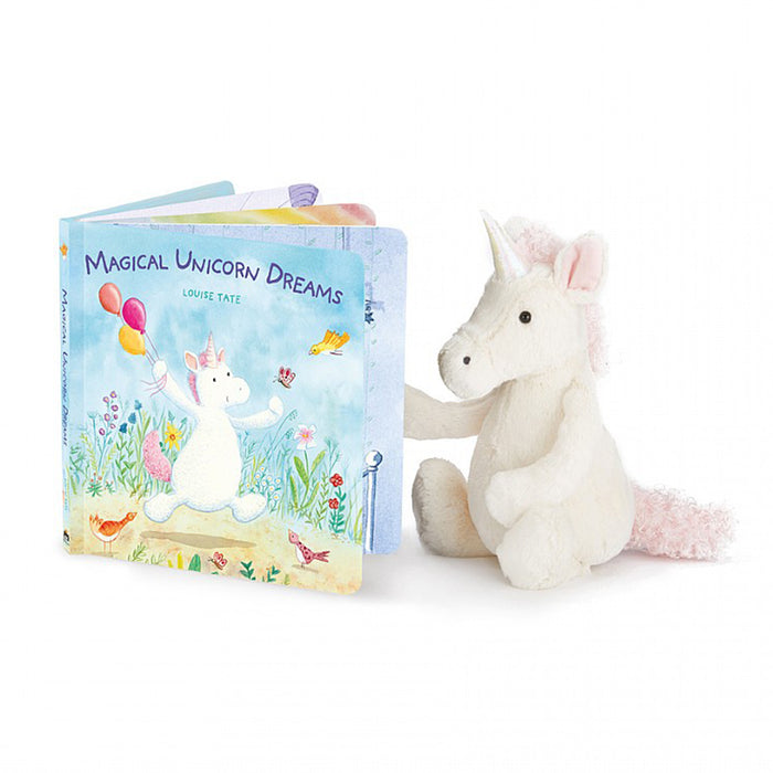 Unicorn Plush and Book Set