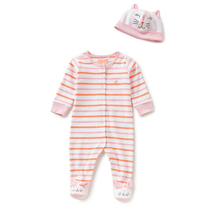 Joy Cat Babygrow Set