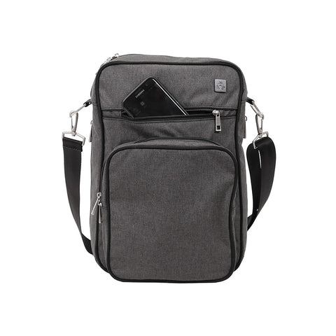 Helix Chrome Diaper Bag