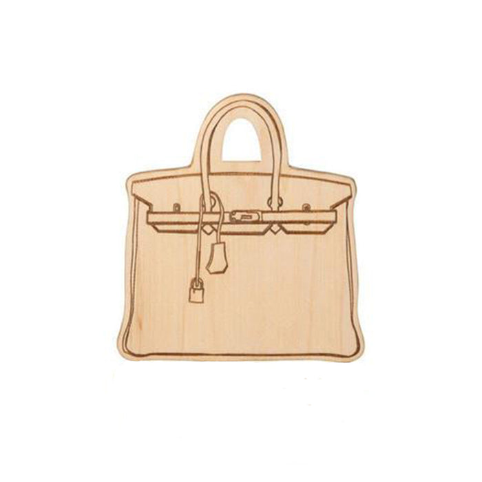 Birkin Bag Wooden Teether