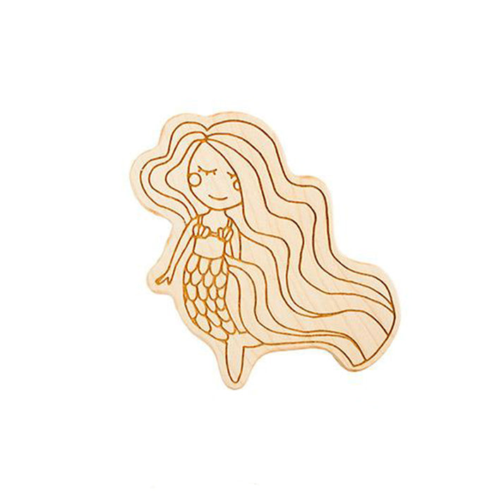 Mermaid Wooden Teether