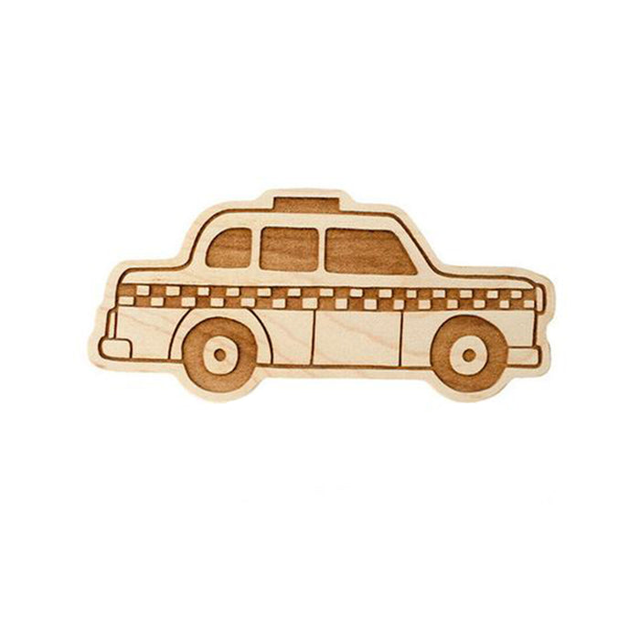 Taxi Wooden Teether