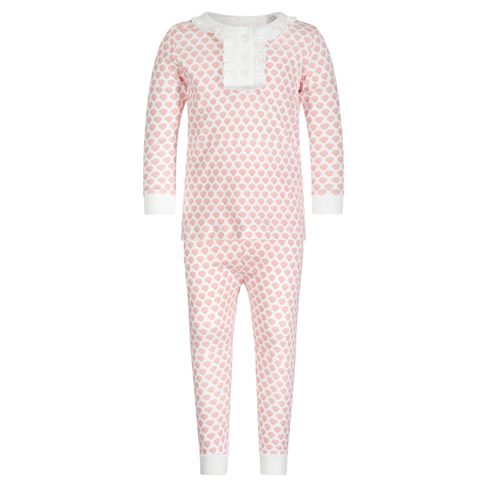 Alden Girls Two-Piece Shell Pajamas
