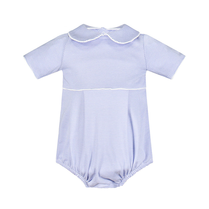 Palmer Blue Striped Short Bubble