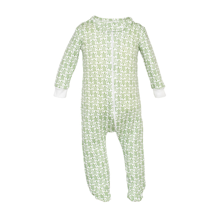 Parker Zippered Turtle Jammies