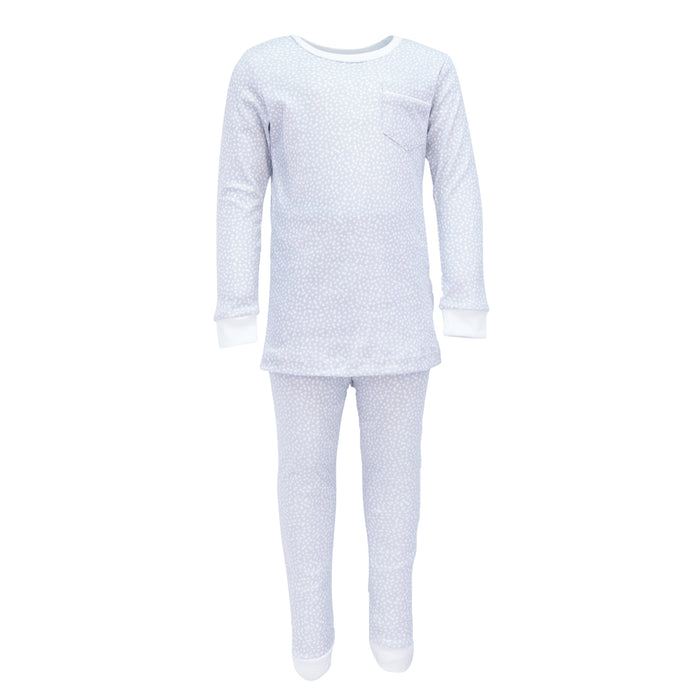 Bradford Starlight Blue 2pc. Pajama Set