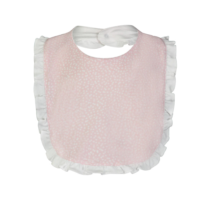 Starlight Pink Ruffled Bib