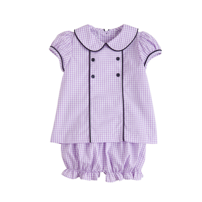 Abbey Lilac Bloomer Set