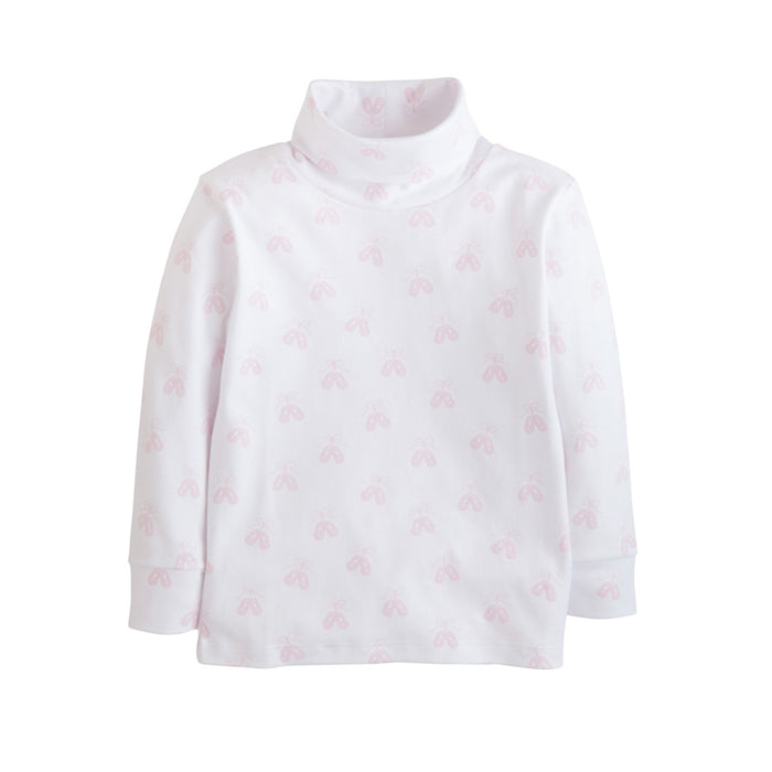 Ballet Shoe Print Turtleneck