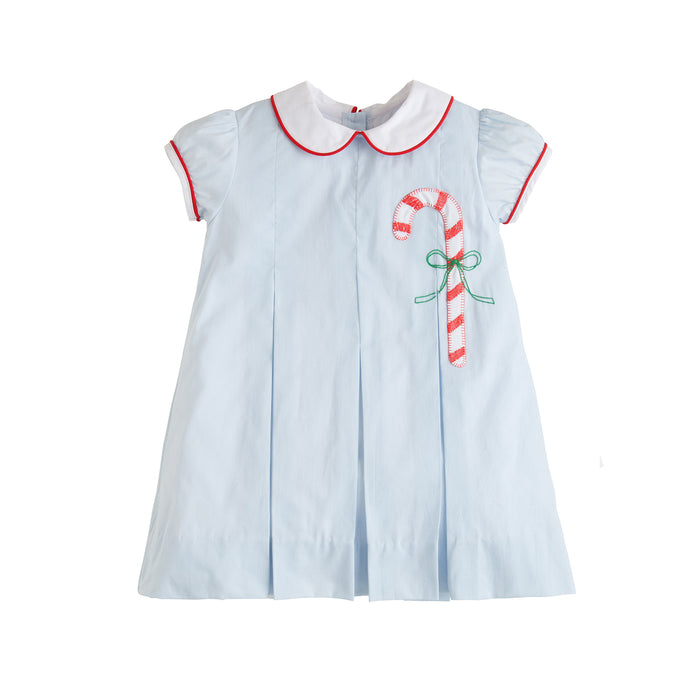 Candy Cane Pleat Dress