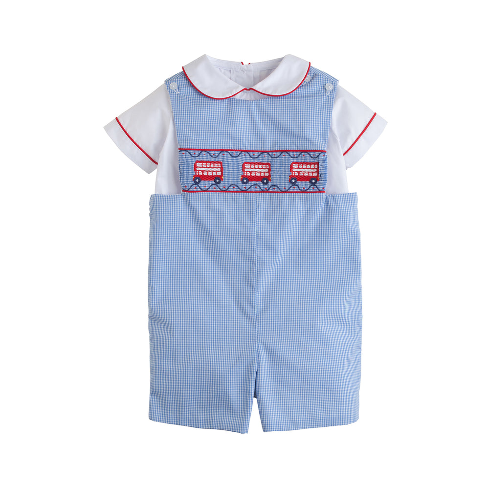 Double Decker Smocked John John Set