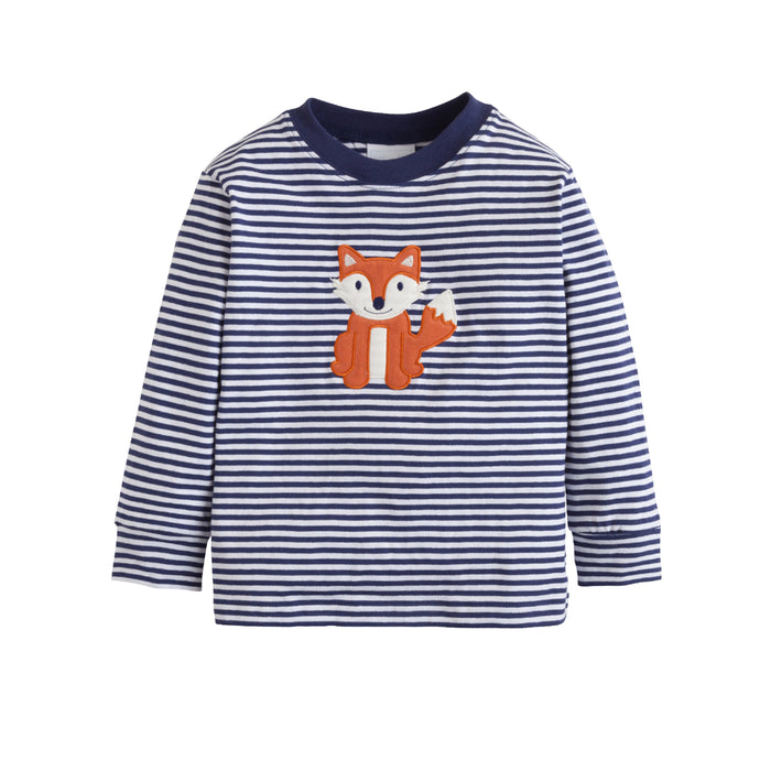 Fox Applique T-Shirt