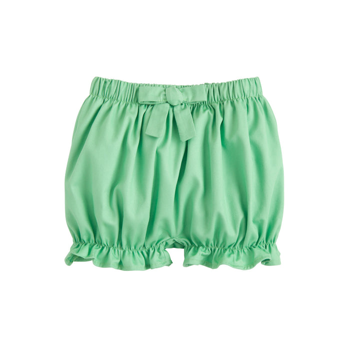 Green Twill Bow Bloomers