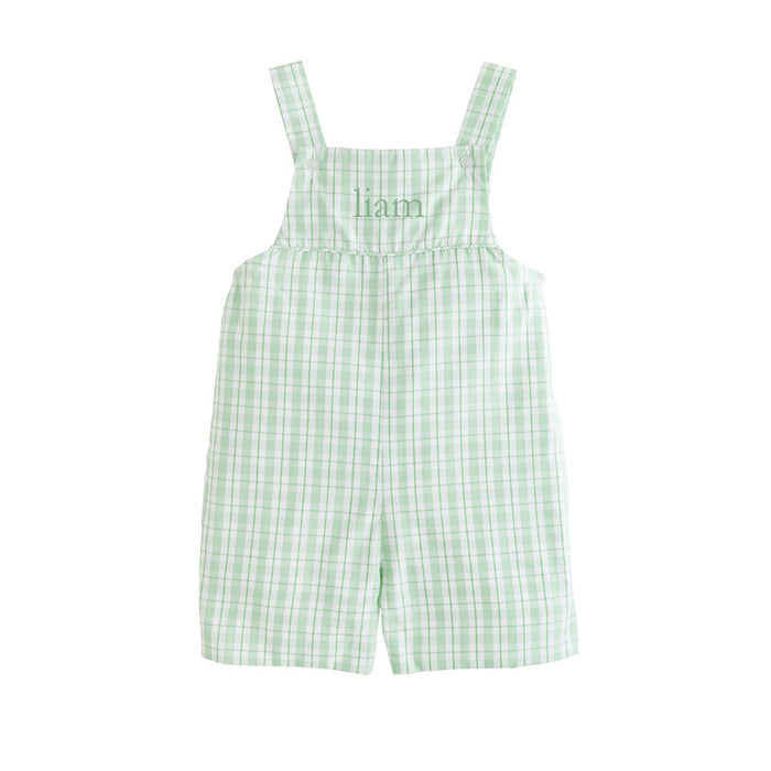 Hampton Green Plaid Shortall