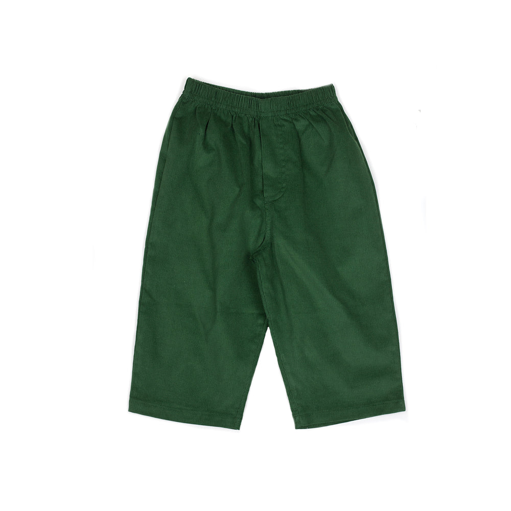 Hunter Green Pull On Pant