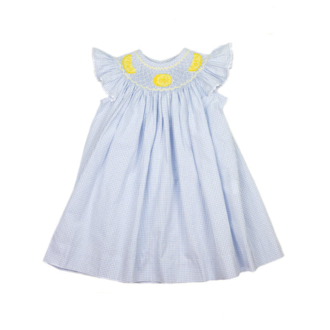 Lemon Drop Bishop Dress