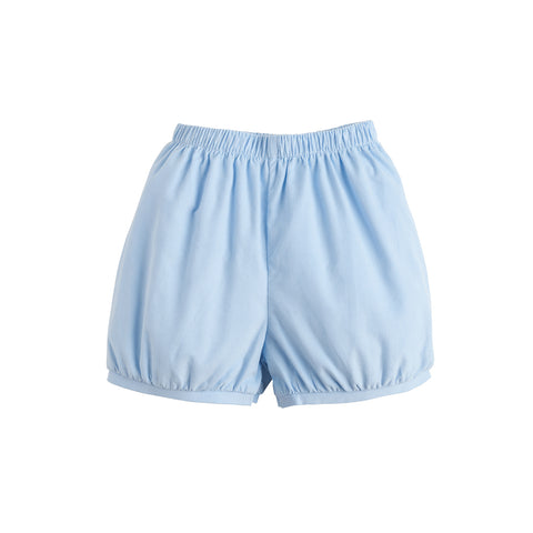 Light Blue Corduroy Banded Short