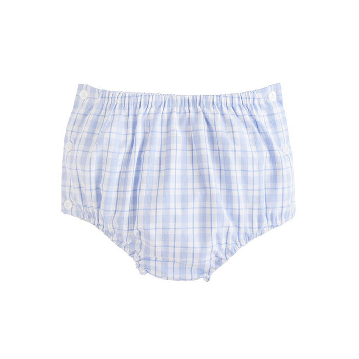 Light Blue Plaid Jam Panty