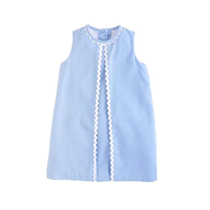 Reese Light Blue Twill Dress