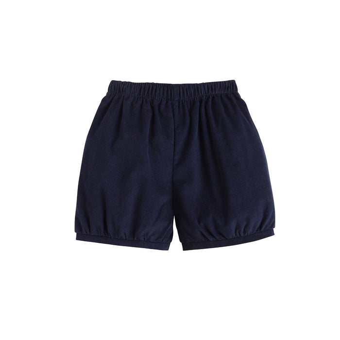 Navy Banded Shorts