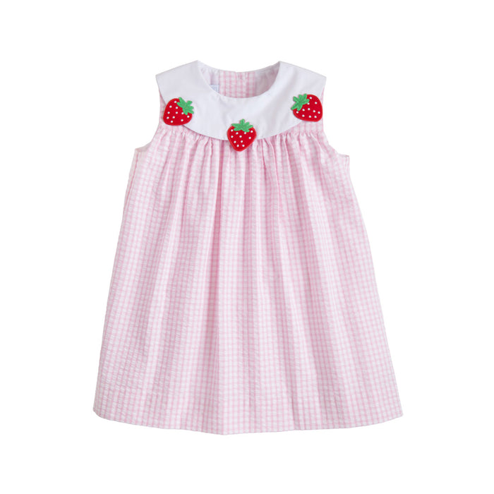 Strawberry Bib Dress