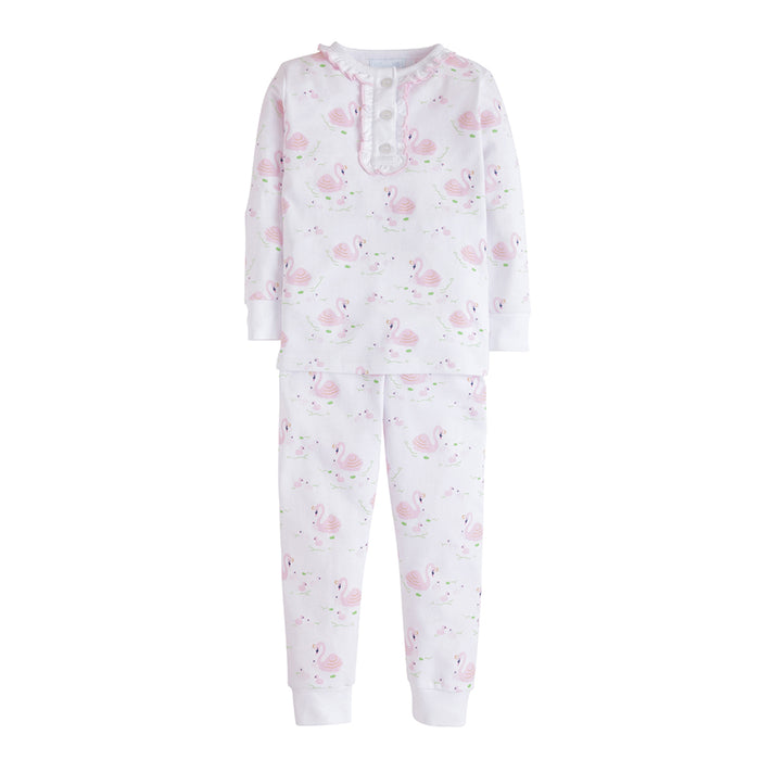 Swan Lake Printed Girls Jammies