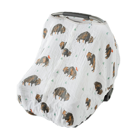 Bison Car Seat Cover