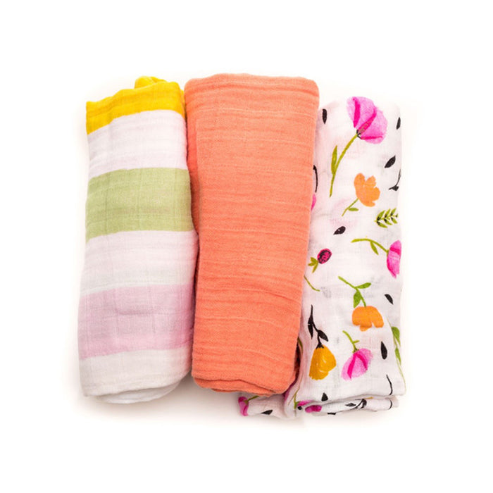 Cabana Stripe Cotton Swaddle Set