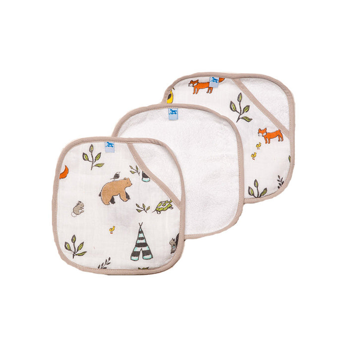 Forest Friends Washcloth Set