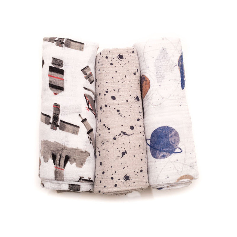 Ground Control Cotton Swaddle Set