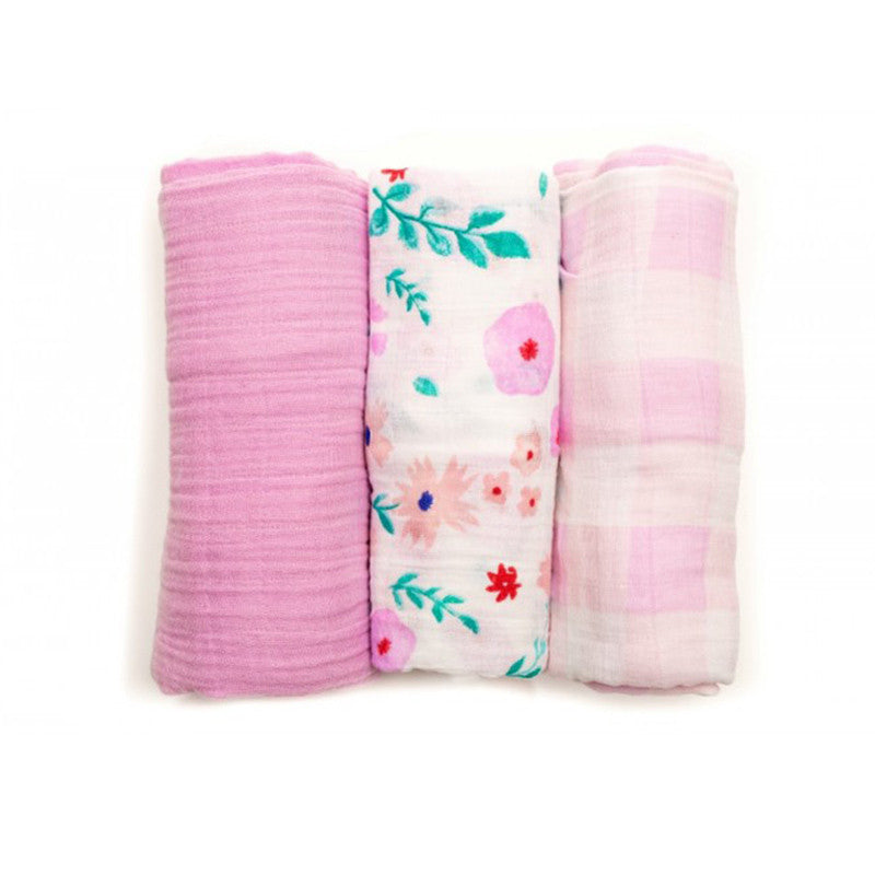 Morning Glory Cotton Swaddle Set