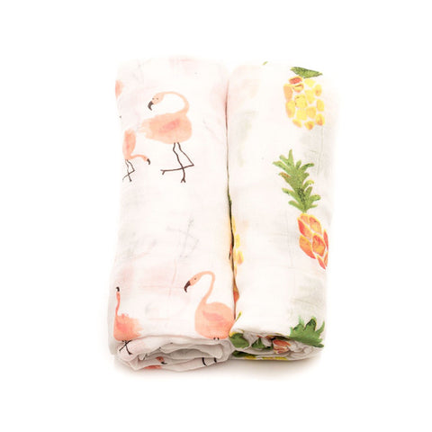 Pink Ladies Deluxe Swaddle Set