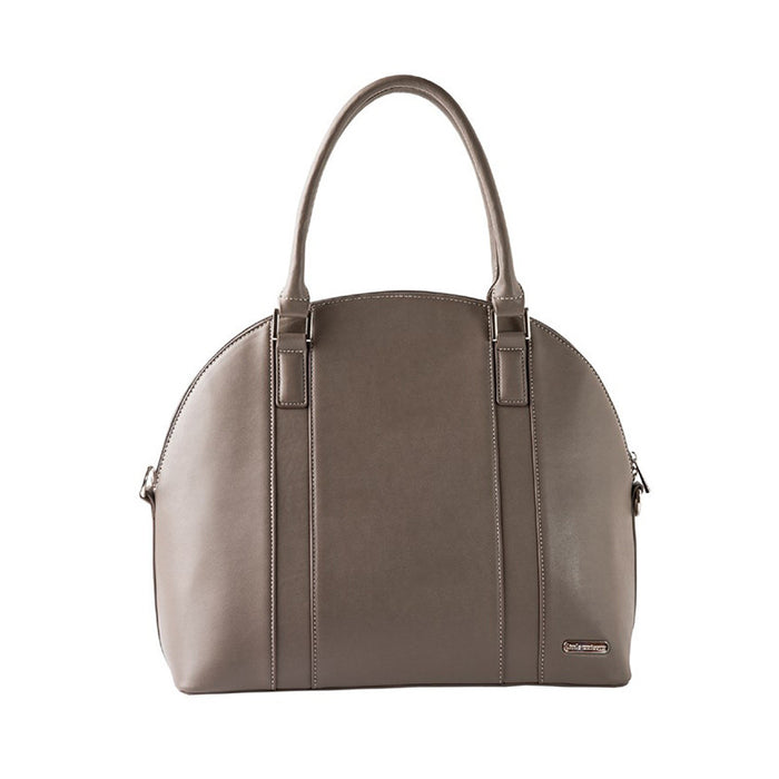 Rotunda Diaper Bag in Taupe