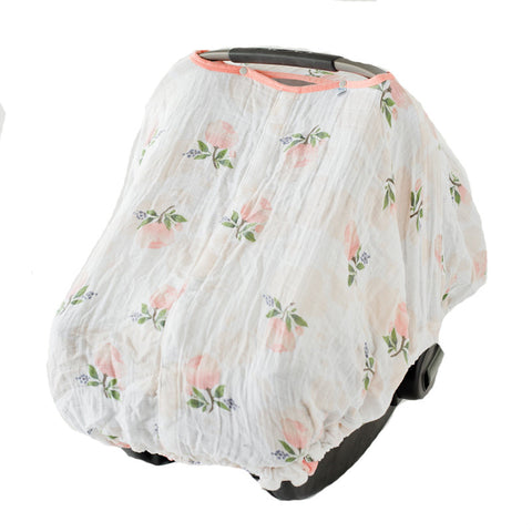 Watercolor Rose Car Seat Cover