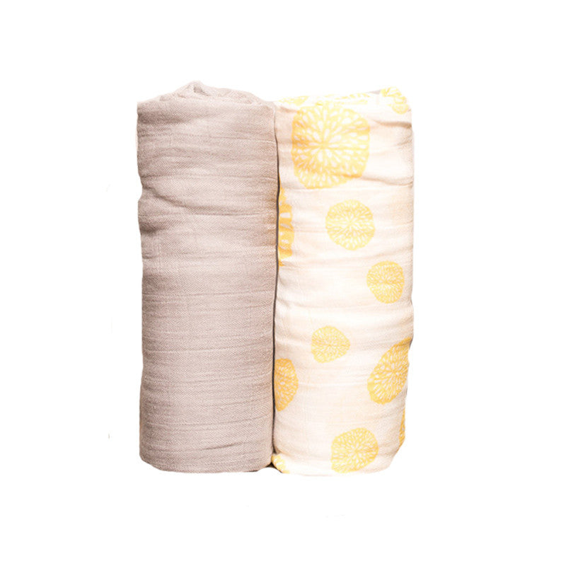 Lemon Burst Deluxe Swaddle Set