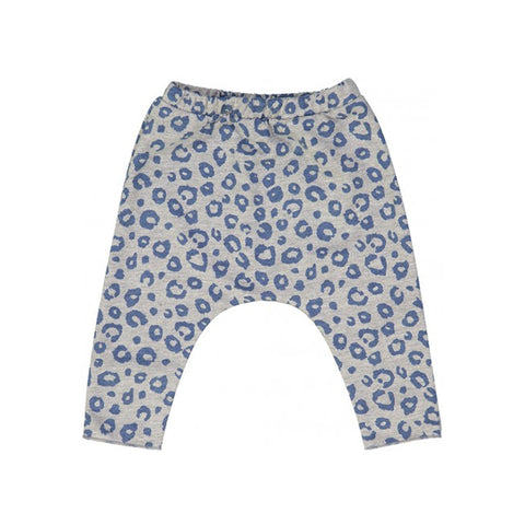 Blue Leopard Savane Trouser