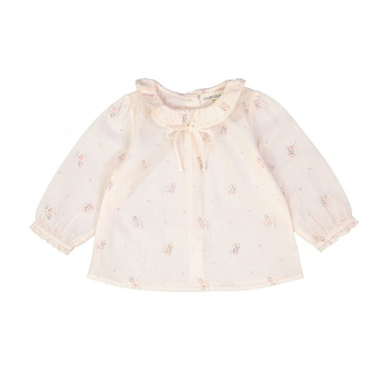 Light Pink Floral Alicia Blouse