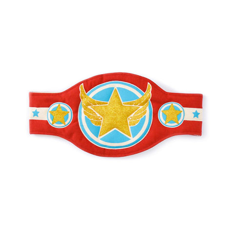 Red and Blue Champion Belt