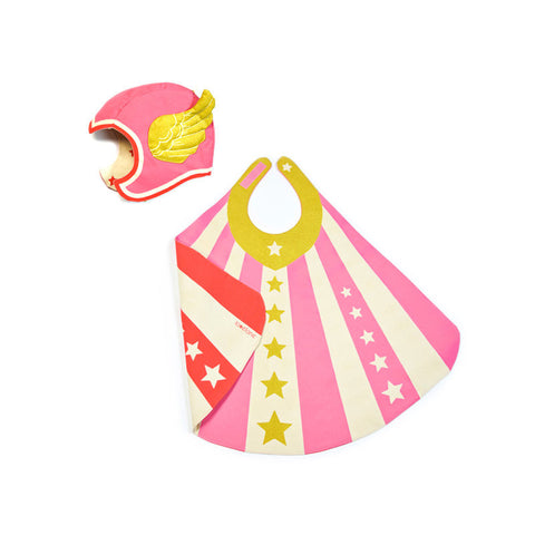 Pink Flying Super Hero Costume