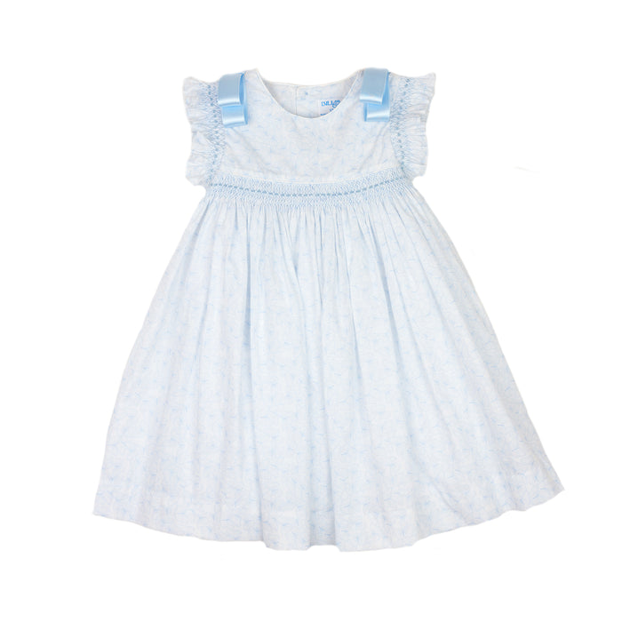 Butterfly Bow Sleeve Dress