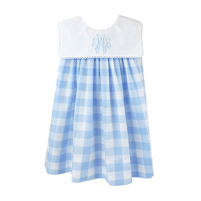 Hope Chest Blue & White Plaid Dress