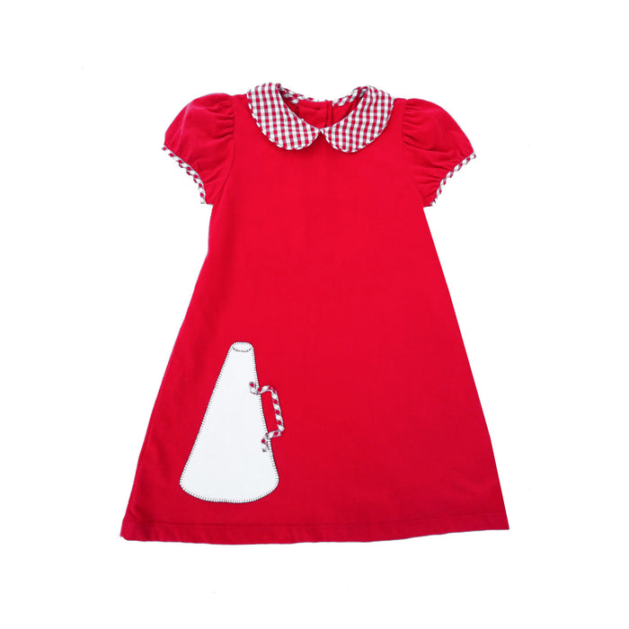 Red Megaphone Dress