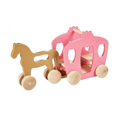 Horse and Carriage Set