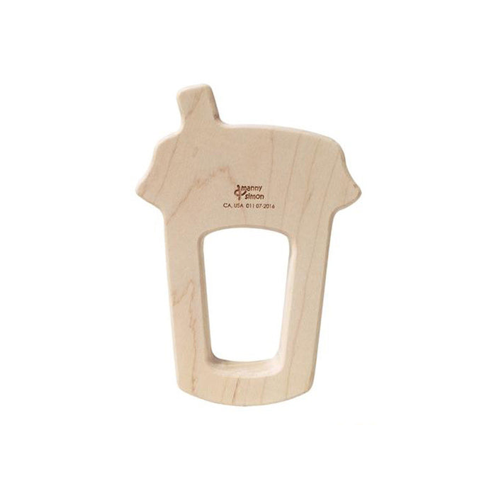 Iced Latte Wooden Teether
